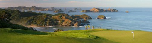 Kauri Cliffs Heli-Golf, New Zealand
