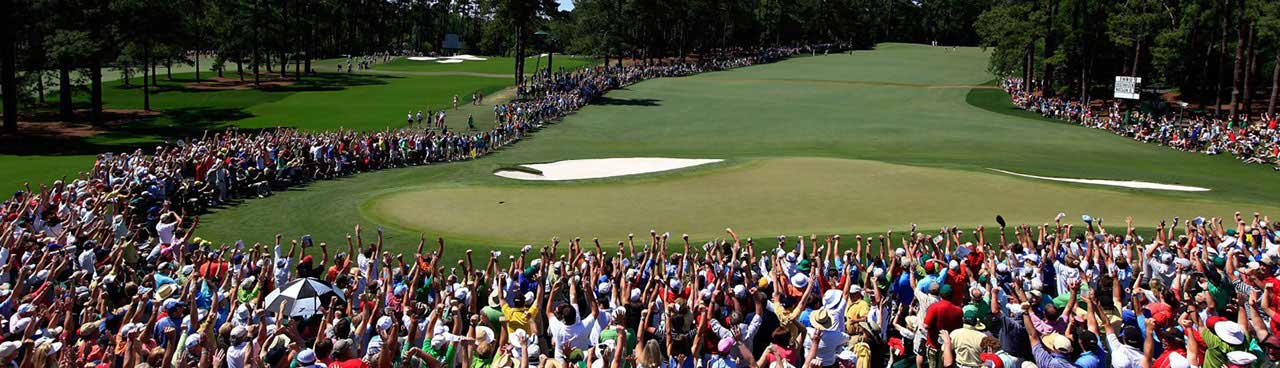 US Masters Crowd