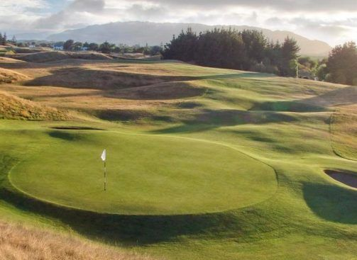 Paraparaumu Golf Course, 8th Hole