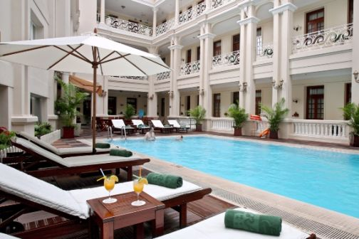 Pool at Grand Hotel, Saigon