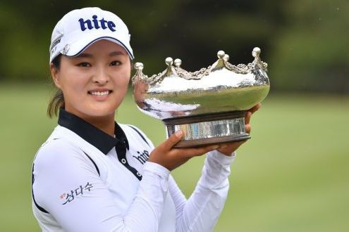Jin-young Ko, winner ISPS HANDA Australian Womens Open 2018